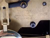 Herschede Wooden Westminster Mantle Clock #808