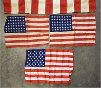 Storm King 3' x 5' 48 Star American Flag & More