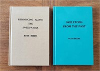 2 WY BOOKS by Ruth Beebe Sweetwater & Skeletons