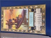 1930s Advertising Calendars Sinclair Oils KS
