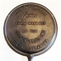 Vintage Cook 'n Kettle Junior Cast Iron Lid Only