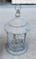 1920s Ceiling Lamp Fixture and Hanging Lantern
