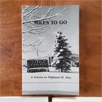 3 WY BOOKS Shoshoni Miles to Go Kathleen's Book