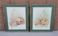 Two Still Life Fruit Prints by Barbara Weldon