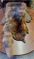 Three Vintage Lady's Fur Stoles Collars
