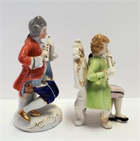 Occupied Japan & Made in Japan Musician Figurines