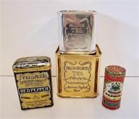 Vintage Kitchenware Spice Tins & Food Molds