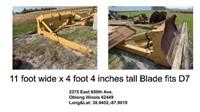 Bulldozer Attachments/Livestock Trailer