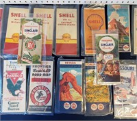 28 Old Gas Station Maps 1950s & Earlier