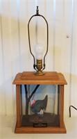 Wild Turkey Federation Ltd Ed Collector Lamp