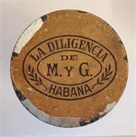 Antique Pedro Moreda Cuban Cigar Tin & Cigar Boxes