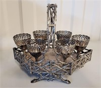 Lot of Silver Plated Pieces to Repurpose or Use