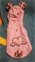 """Cute pink jacket with more ears size L, M=10"""""""