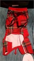 Plaid Teddy bear coat XXS Reg $58