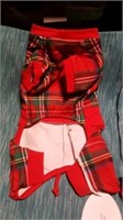 Plaid Teddy bear coat S Reg $58