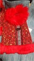 Fancy red coat  XS Reg $35