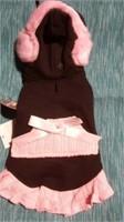 Black/Pink earmuff hoodie XL Reg $22