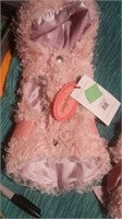 "Beautiful pink coat size 3 size 2=8"" Reg $60"