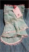 "Green knit dress size 5=10"" Ret $48"