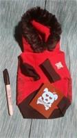 """Red hoodie size xxs=6.5"""" Reg $30"""