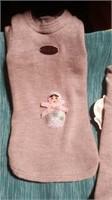 "Italian handmade wool grey sweater xsReg$100m=10"""