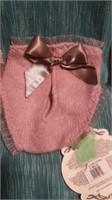 Italian handmade wool mauve undies SReg $65