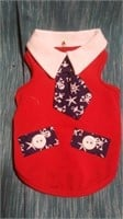 Red dress w/ tie XL Reg $52 see pics for sizing