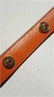 "18"" leather collar Reg $70"