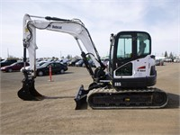 2017 Bobcat E85 Hydraulic Excavator