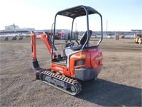 2015 Kubota KX018-4 Hydraulic Excavator