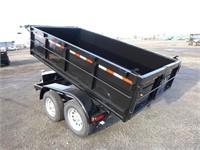 2021 FSTRT 5x10 T/A Dump Trailer