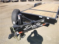 2021 Delta 7x20 T/A Tilt Deck Trailer