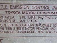 2008 Toyota Camry Sedan