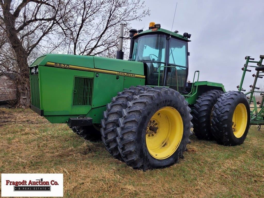1995 John Deere 8870 4wd Tractor, 30.8x42 Duals,