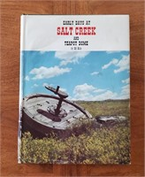 WY BOOK Early Days At Salt Creek Ed Bille 1978