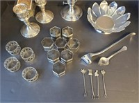 Reed & Barton Sterling Silver Candlesticks & More