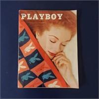 3 Early PLAYBOY Magazines 2/1956 5/1956 7/1962