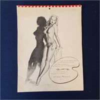 1940s 1960s Pin Up Girl Calendars MacPherson Moran