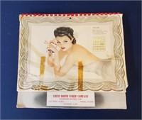 1940s Esquire Varga Pin Up Calendar & Esky Cards