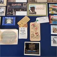 Vintage Travel Souvenirs Jackalope Mailer Photos