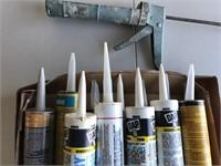 Caulking Gun, Caulk & Heavy Duty Grease