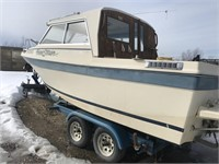BAYLINER 24FT FISHING BOAT , C/W 270HP VOVLO