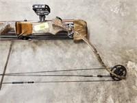 BEAR CAMO WHITETAIL MASTER CROSSBOW W/ ARROWS