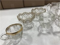 Clear Glass Pieces, Variety