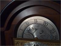 Vtg Ridgeway GW Movement Grandfather Clock.