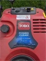 Toro 21in Snow Blower w/ 5.5hp Motor