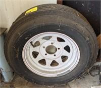 Nanco Caravan Spare Tire