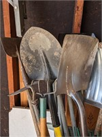 Large Lot of Various Yard Tools