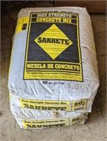 Two 60lbs Bags of Sakrete Concrete Mix