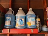 Shelf includes Windshield Wiper Fluid, Trash
